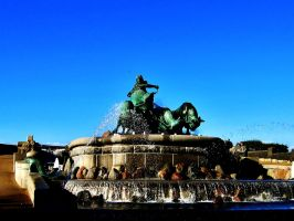 The Gefion Fountain by ThoughtMemory