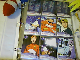 .:Sonic X Cards:. 1 - 9 by SEGAMew
