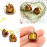 Caramel Chocolate Truffle Charms by right2bearcharms