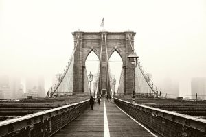 Brooklyn Bridge by Matthias-Haker
