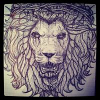 Young Guns All Our Kings Are Dead lion by LauriceY