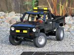 Lego MOC: Toyota Hilux - Back to the Future Style by SeawolfPaul
