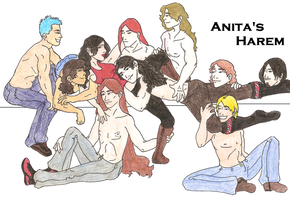 Anita's Harem by Devabbi