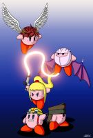 Kirby Hats 6 by weirdozinc