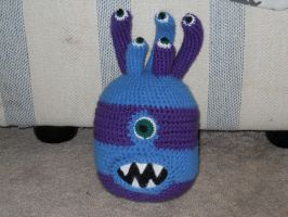 Purple and Blue Beholder by onlyRa