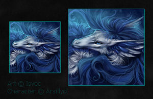 Arsillyd icon commission by Isvoc