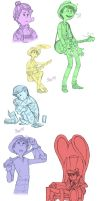 The Once-ler Sketchdump by Foxsnout45