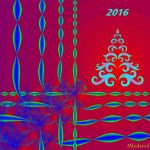 New Year card/2016-3 by Mladavid