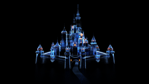 Disney Castle - Chateau Disney by Etrelley