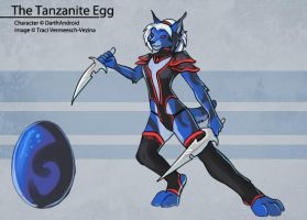 The Tanzanite Egg by Ulario
