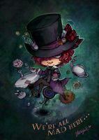The Mad Hatter by StarMasayume