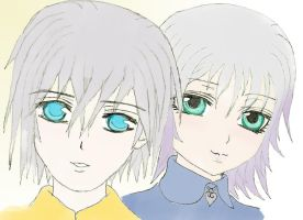 Riku and Lea's children by Loralata