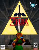 The Legend of Zelda: Ocarina of Time PC DVD Front by Steamland