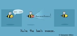 You're the Bee's Sneeze! by sebreg
