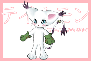 Gatomon by CandyHime