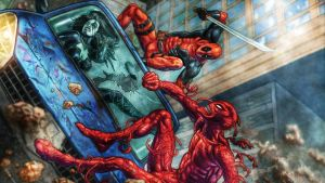 Deadpool Vs. Carnage by ProfessorAdagio