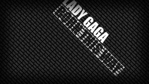 Born This Way Text Wallpaper by SethVennVampire