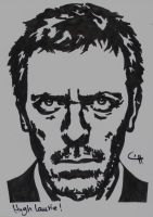 Hugh Laurie by Ahmed-A73