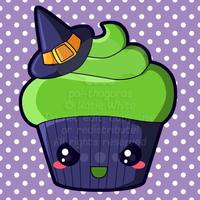 Wicked Witch Cupcake by pai-thagoras