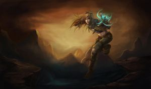 Female Ezreal by Showmeyourmoves