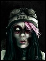 zombie by zilla774