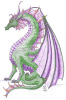 Kezrek dragon by Scellanis