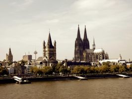 Towers Of Cologne by L-22