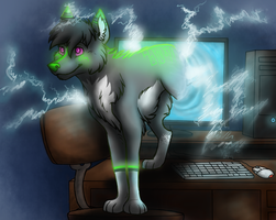 Late Night Hacking by Goldnight13