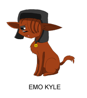 South Park: Emo Kyle by KelseyEdward