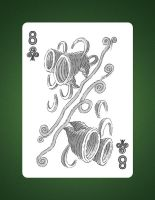 Drawing8OfClubsAirImg8 of Clubs 8 of Airur by LineDetail