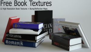 free book textures by opengraphics