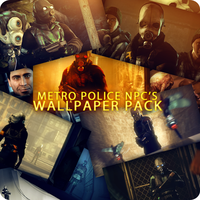 Metropolice NPCs Wallpaper Pack by DP-films
