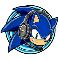 Gift/Request: Sonic with Headsets avatar by KyuubiCore