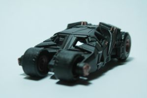 The Dark Knight Trilogy: Tumbler 1 by SydeX