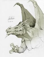 another dragon... by alessandelpho