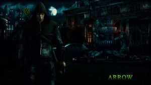 Arrow Wallpaper (Update) by BatmanInc