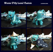 My Little Pony Filly Luna Custom by lonewolf3878