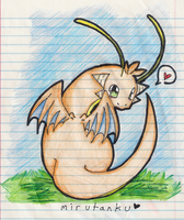 The Mighty Dragonite by cluelesscomedy123