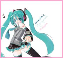 : VOCALOiD Miku Hatsune : by lollivamp