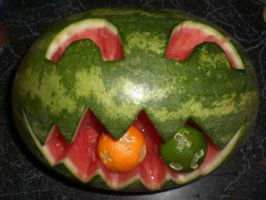 Evil Mellon With Hunger by SN2