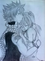 FairyTail: Natsu And Lucy by TravelingArtist93