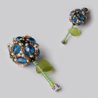 Beaded Bead Flower by borysbrytva