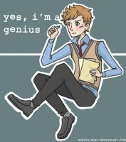Spencer Reid: genius by mokoia-chan