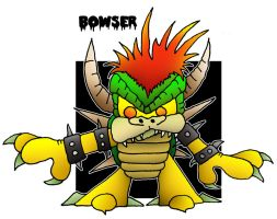 Lil' Bowser by 5chmee