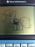 Graphing Calculator Ponies - Derpy Hooves by alxg833