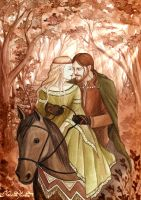 Tristan and Isolde by UnripeHamadryad