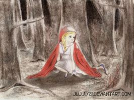 The Little Red Riding Hood by Jujuly21