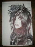 Finished Andy Sixx Drawing by belledefonte