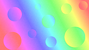 Background- Rainbow Bubbles by SweetAmorito