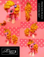 Custom MLP Princess Peach Pinkie Pie by StrawberrySoulReaper